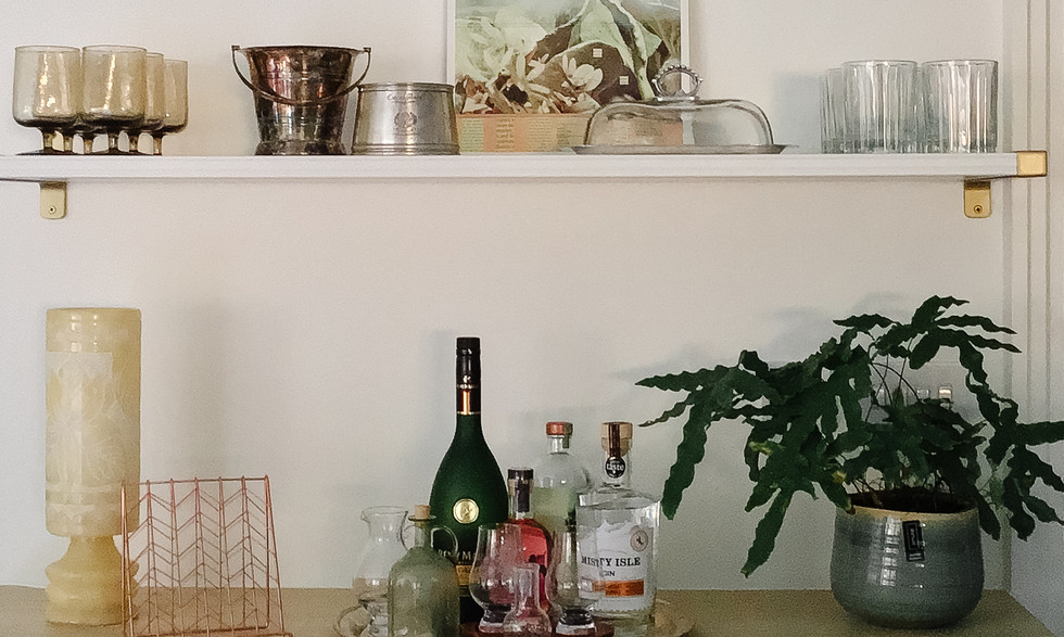 Styling of bar area