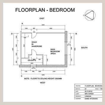 Autocad Floor Plan