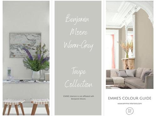 Benjamin Moore Warm Grey Collection
