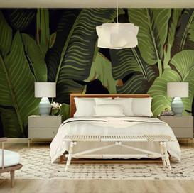 Botanical Bedroom Design