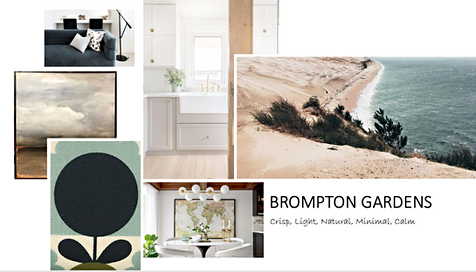 Inspiration Board Soft Greens and Greys