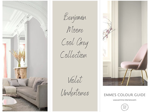 Benjamin Moore  Cool Grey Collection - Violet Undertones