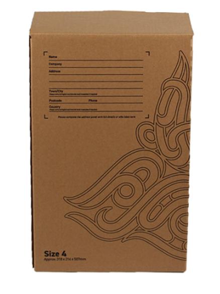 Parcel Storage - Size 4 Box