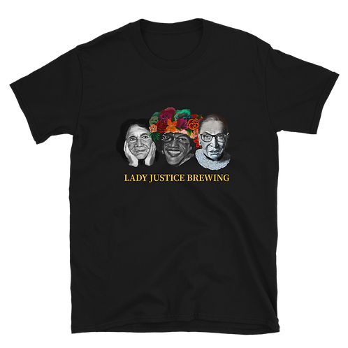 Lady Justice Brewing Short-Sleeve Unisex T-Shirt