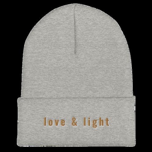 Love & Light Cuffed Beanie