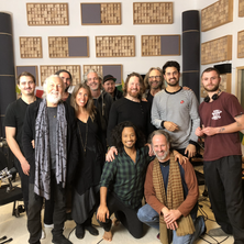 Filming at Tom Dams' Köln studio 2018