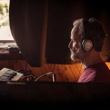 Recording at Rocking Horse Studios, Byron bay, Australia