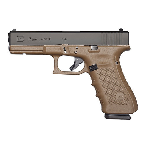 Glock 17 Gen4 FDE calibre 9x19
