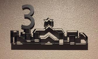 デュオヒルズ札幌 エレベーターホール