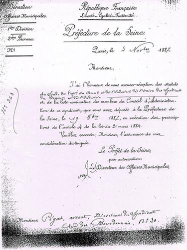 statut du Seci de 1887 p3