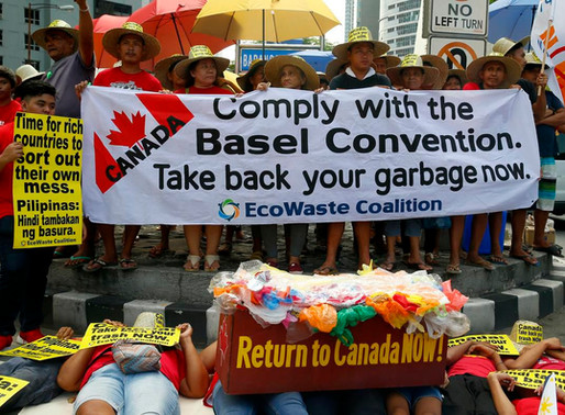 Do you have to be a dictator to say no to Canada's garbage?