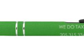 Black Soft Touch Metal Paragon Stylus Pen