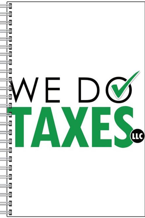 We Do Taxes Notebook