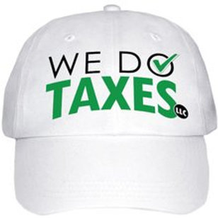 We Do Taxes Hat