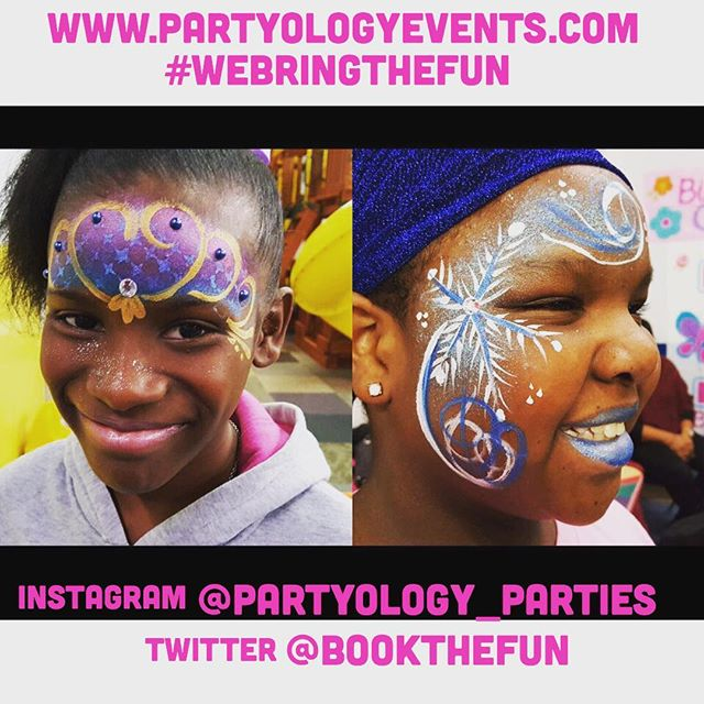 A party isn't a party without face art ! Book with Partyology today and let us bring the fun to you