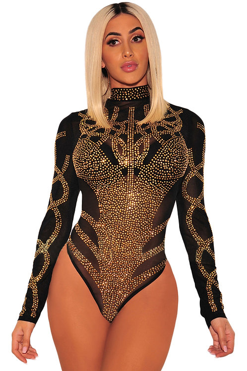 Gold Empress Body suit