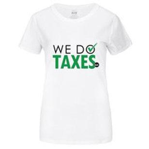 We Do Taxes Full Logo t-Shirt