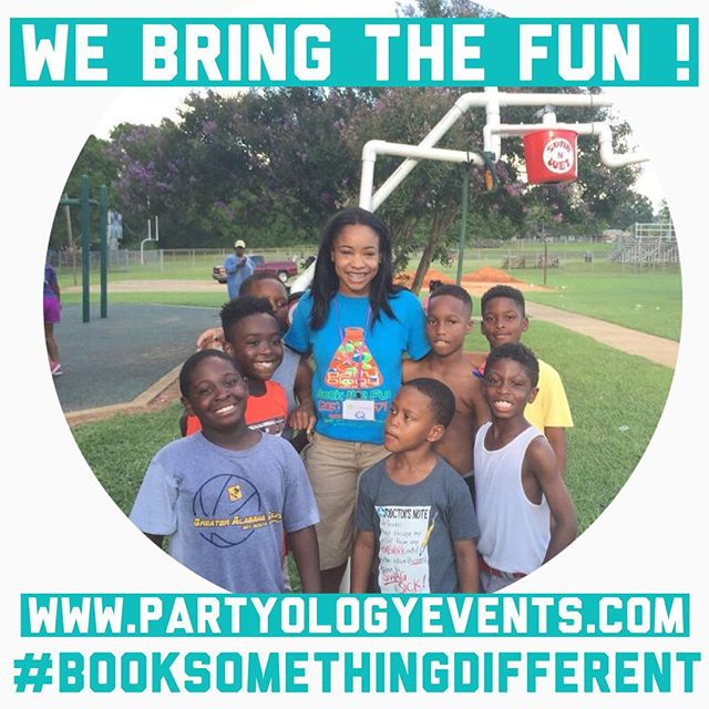 Our partyologists specialize in FUN! Book us for your next event today