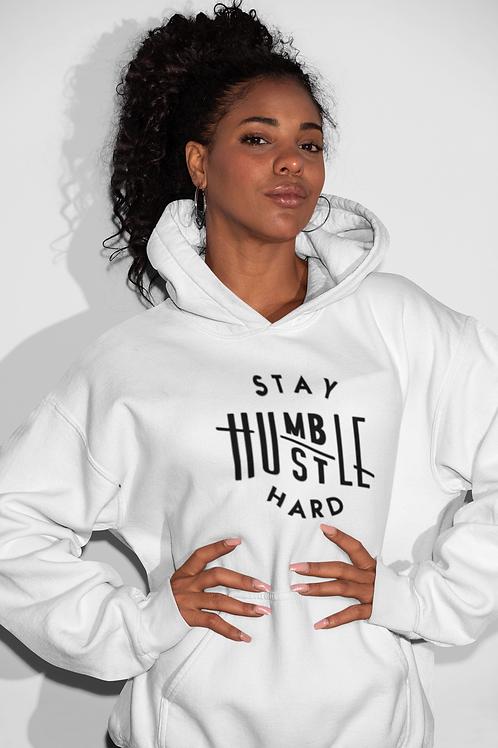 """Stay Humble Hustle Hard""  Women's Hoodie"