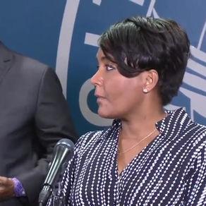 Black Lives Matter (Press Conference w/Atlanta, Mayor Keisha Lance-Bottoms)