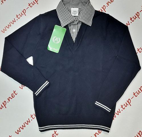 Джемпер-сорочка