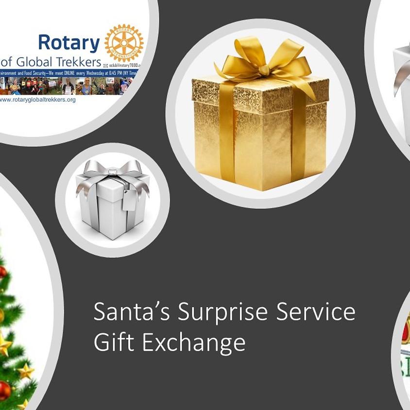 Santa's Surprise Service Gift Exchange