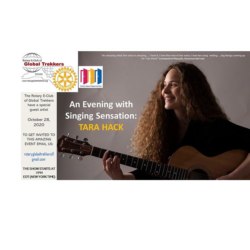 An Evening with Singing Sensation: Tara Hack