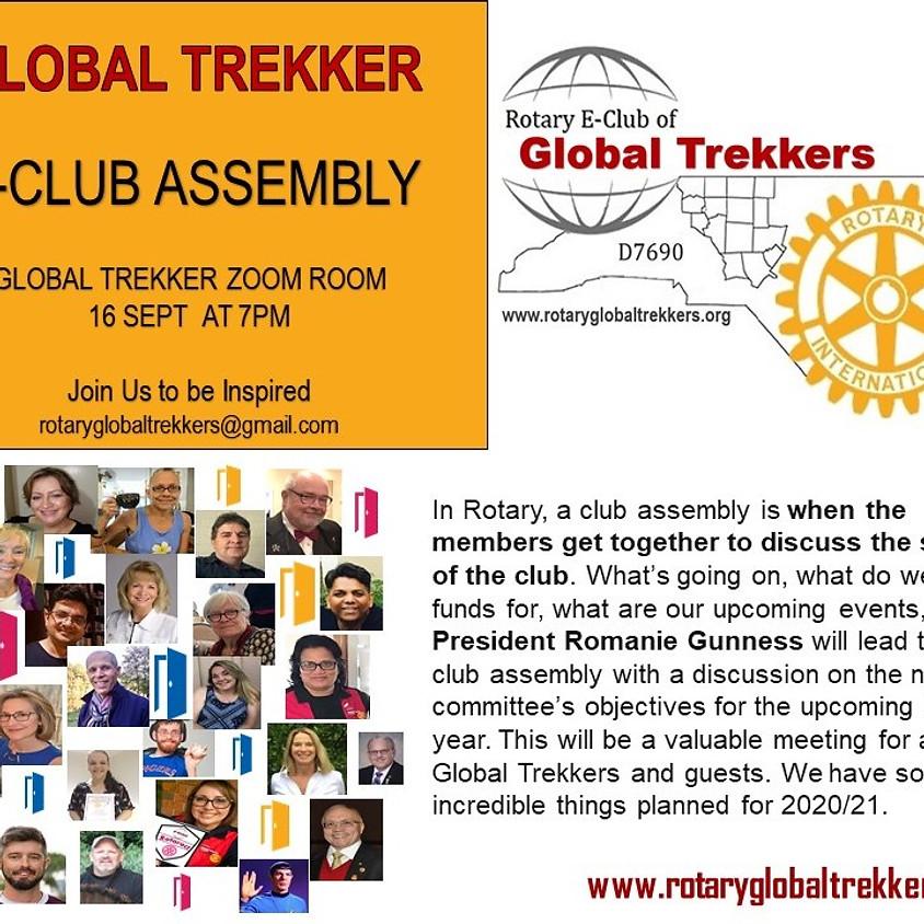 Global Trekker E-Club Assembly