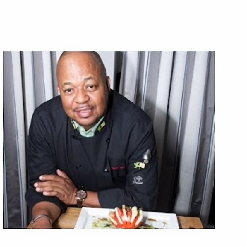 Cooking with award-winning Chef  Selwyn Richards