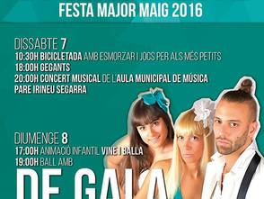 Festa Major de Maig 2016