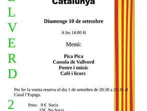FESTA DEL SOCI I CELEBRACIÓ DIADA CATALUNYA