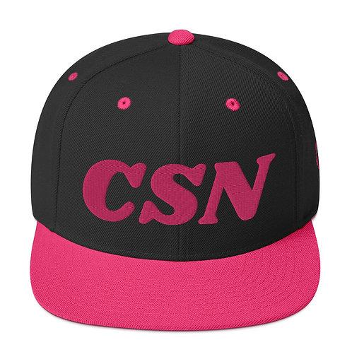CSN Female Snapback Cap