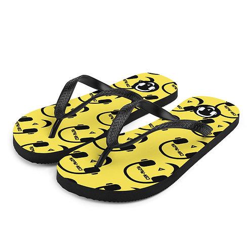 CSN-MuZik Yellow Flip-Flops
