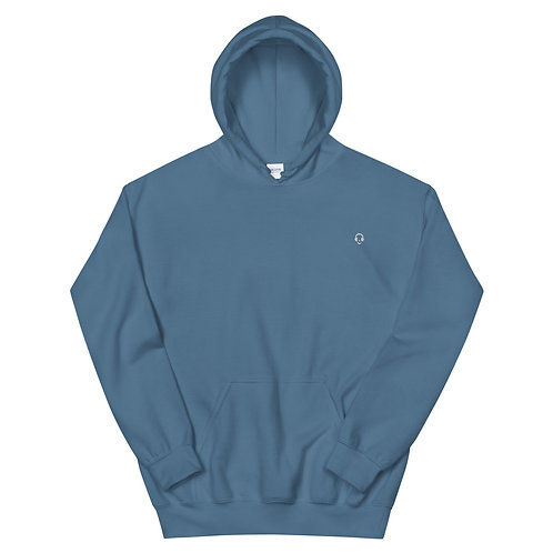 Indigo Blue Unisex Hoodie
