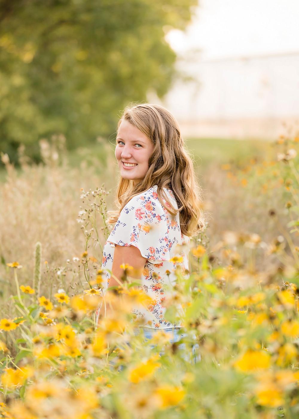 Fargo Outdoor Senior Pictures