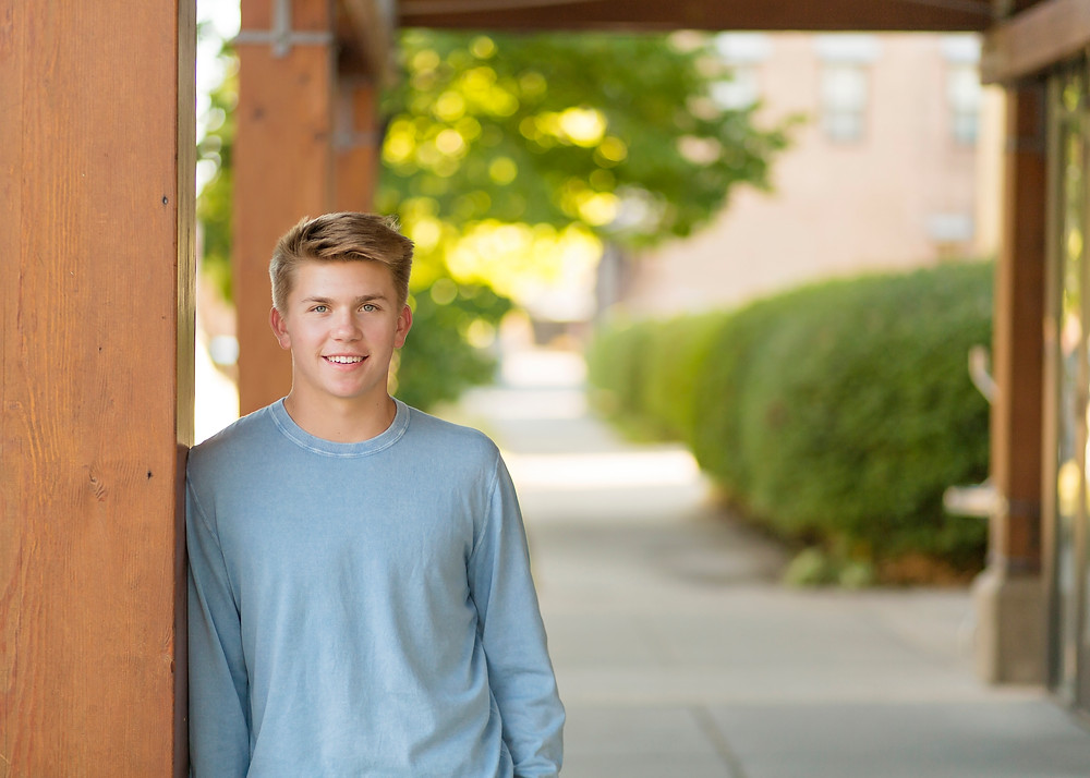 Boy Senior Class Photography