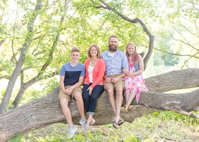 MIOSEK FAMILY . SUMMER