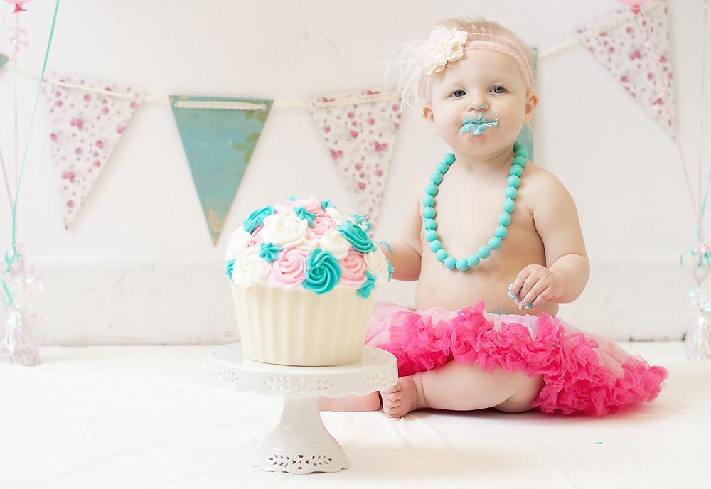 Cake Smash One Year Photos