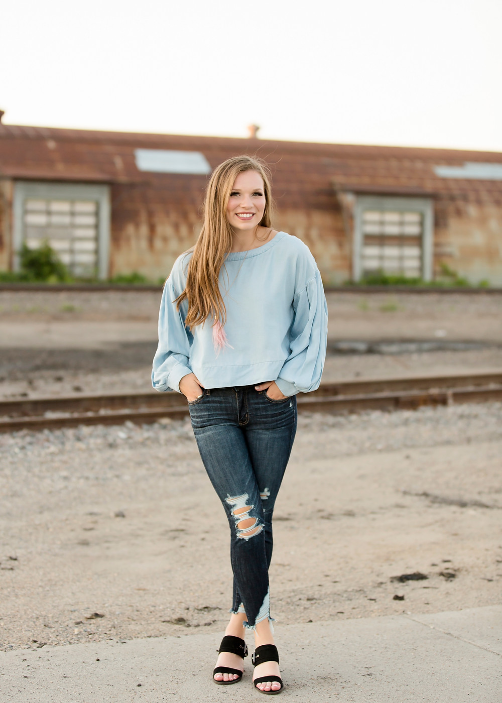 Senior pictures with print release