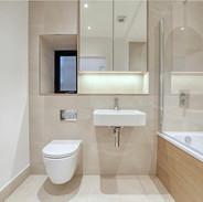 MIRRORED VANITY UNIT & BATH PANEL