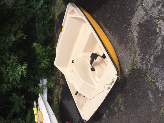 Water Wheeler Paddle Boat