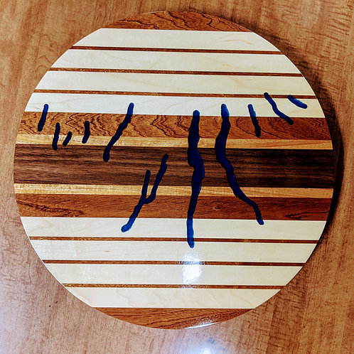 Kenny Creations Finger Lakes Lazy Susan
