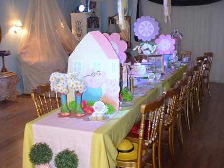 Peppa Pig Theme || The Enchanted Dollhouse Tea Party Room Miami || Tea Time Miami