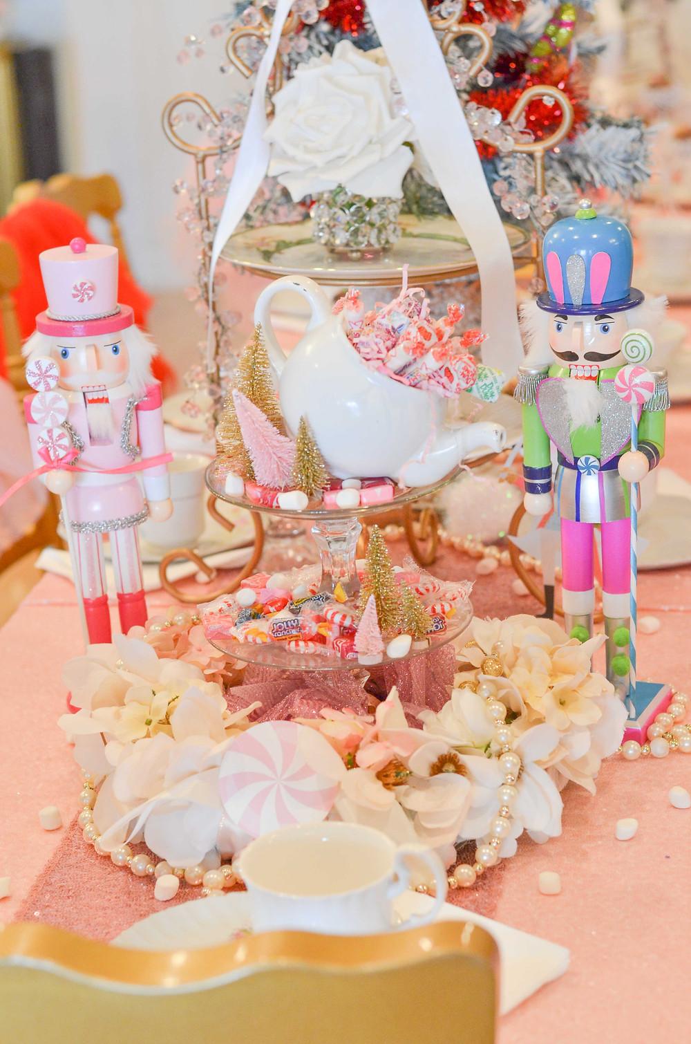 nutcracker christmas tea party decorations