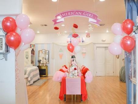 American Girl Theme Tea Party
