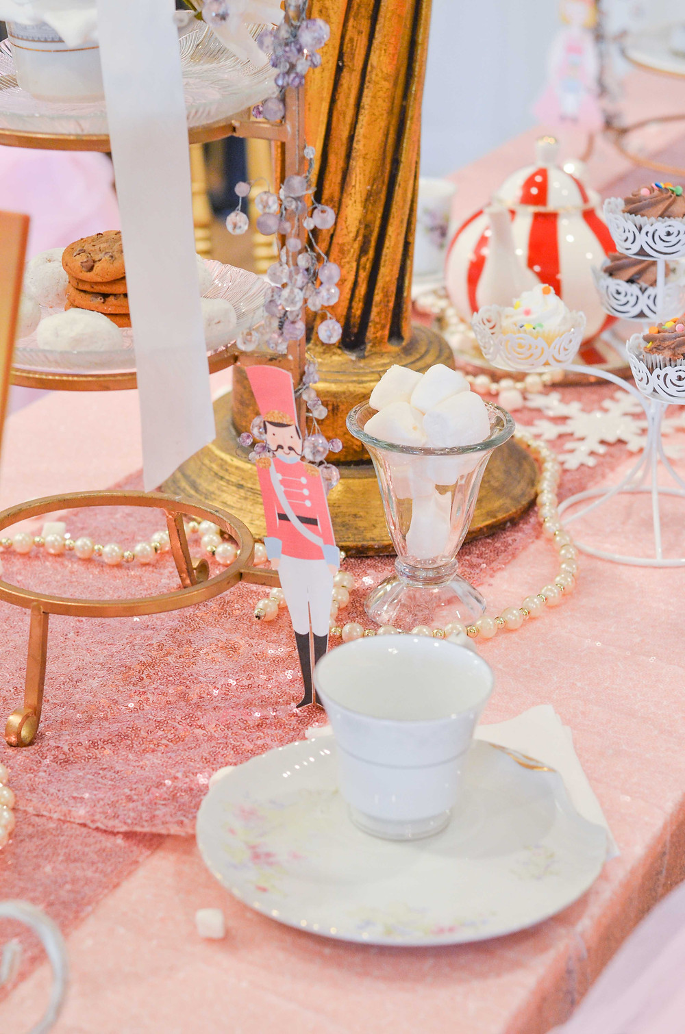 land of sweets tea party decorations