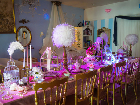 Nesting Themed Tea Party || Baby Shower Themed Tea Parties || Miami Tea Party Places