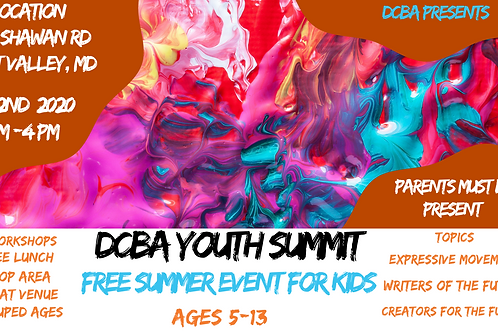 Youth Summit ticket donation
