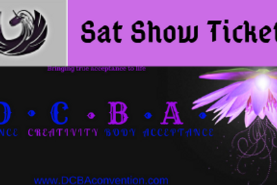 Saturday Show Ticket Only