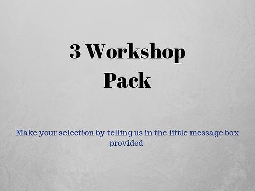 Workshop 3 pack
